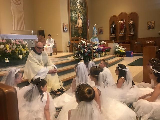 Fr. Ross' First Communion Homily