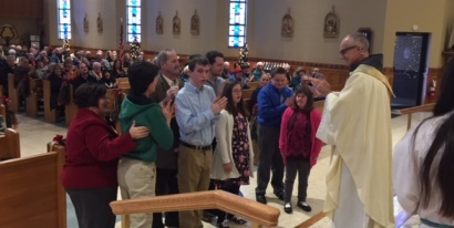 Confirmation at St. Francis