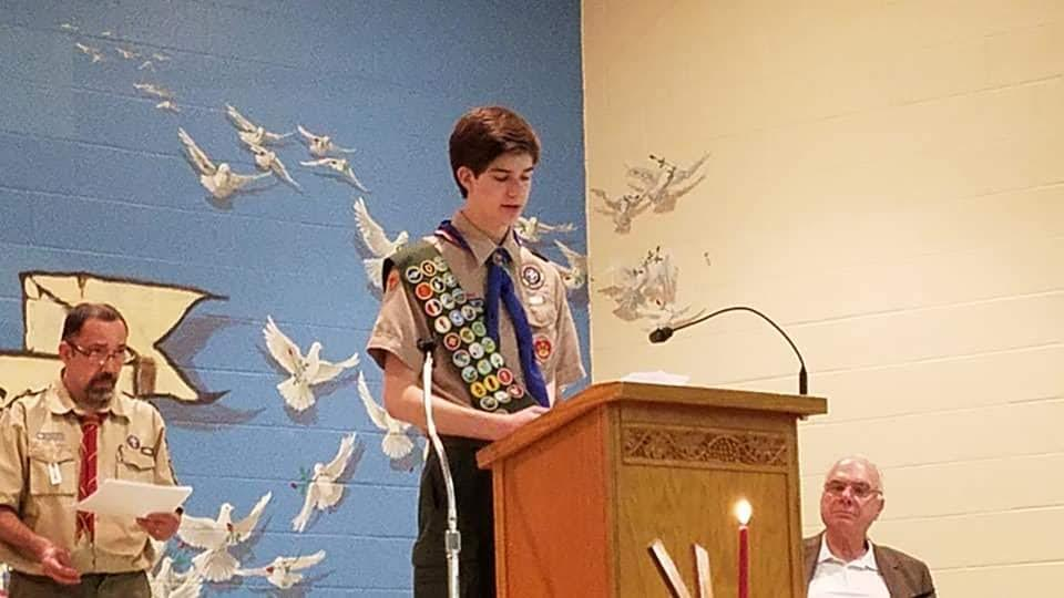 Matt Grosso--Our New Eagle Scout